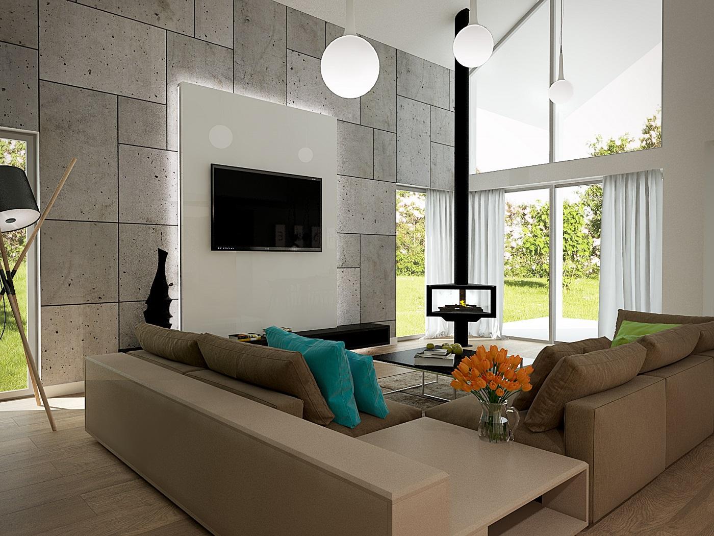 Kompleksowy projekt domu jednorodzinnego z antresolą 8
