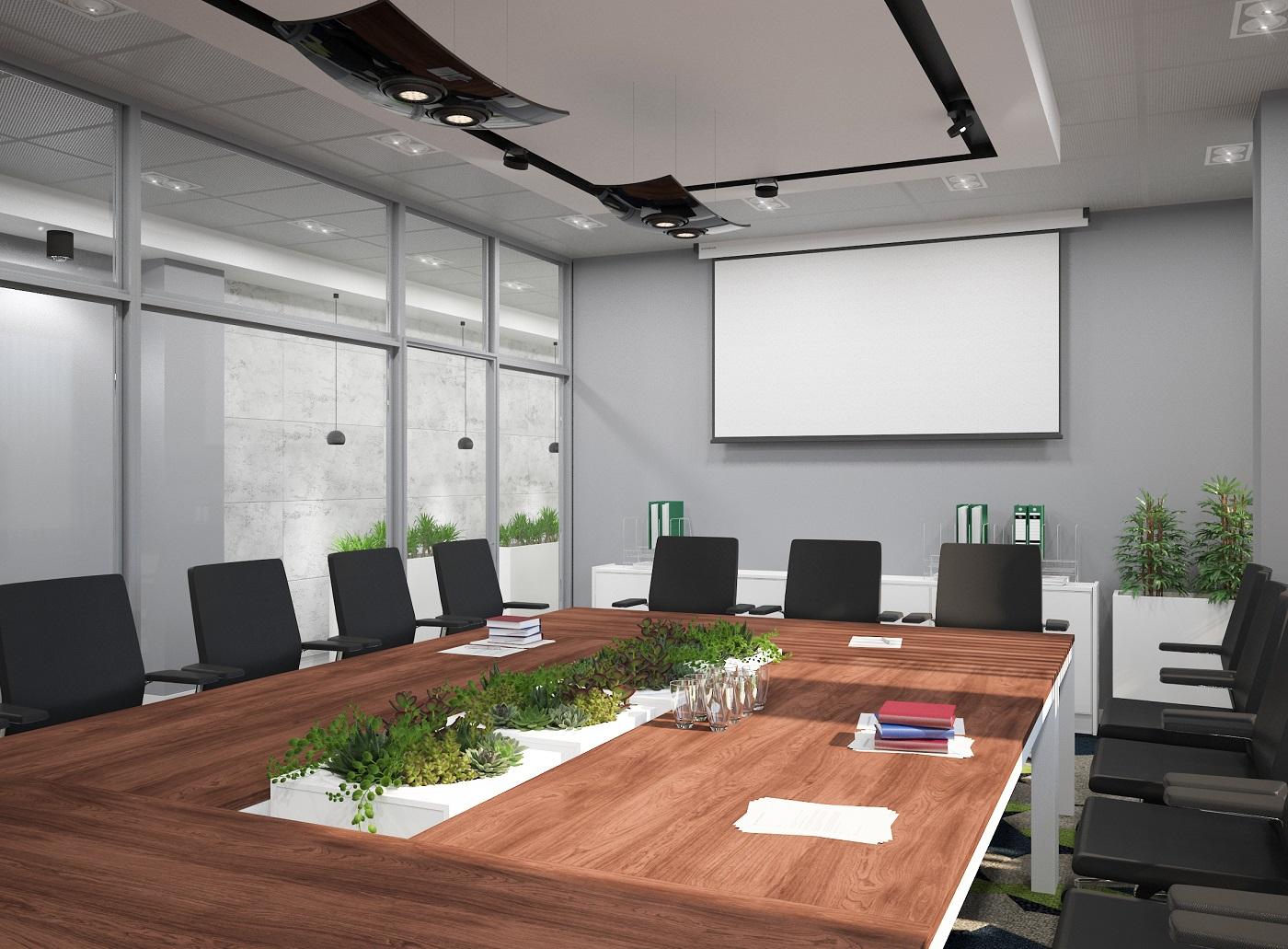 Wnętrze reprezentacyjne firmy 5